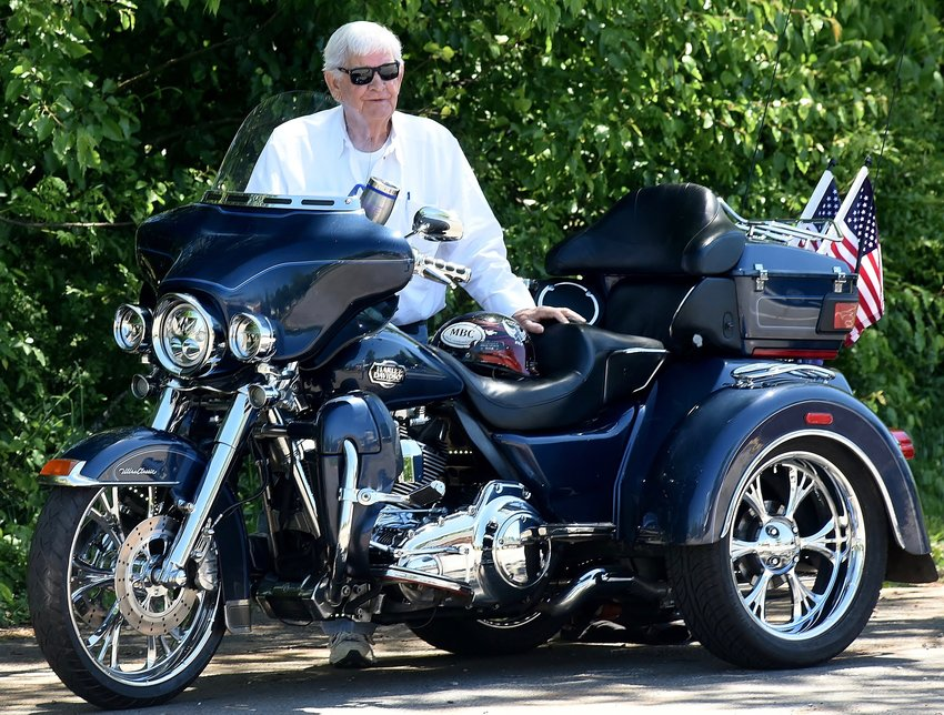 Buddy Bagley's annual motorcycle ride in memory of his late wife will be July 13, departing from the Logtown area of downtown Adairsville.