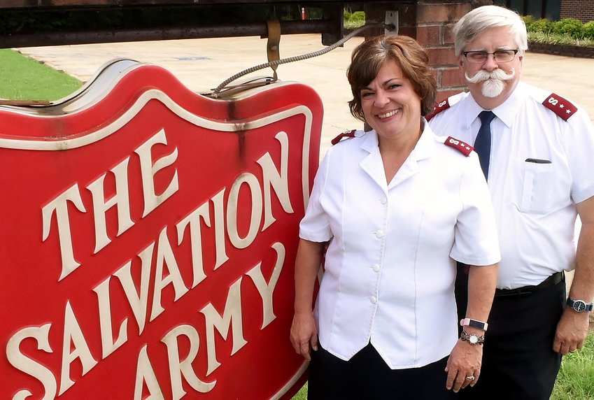 Ruth and Tom Kenyon are the new captains of The Salvation Army's Cartersville Corps.