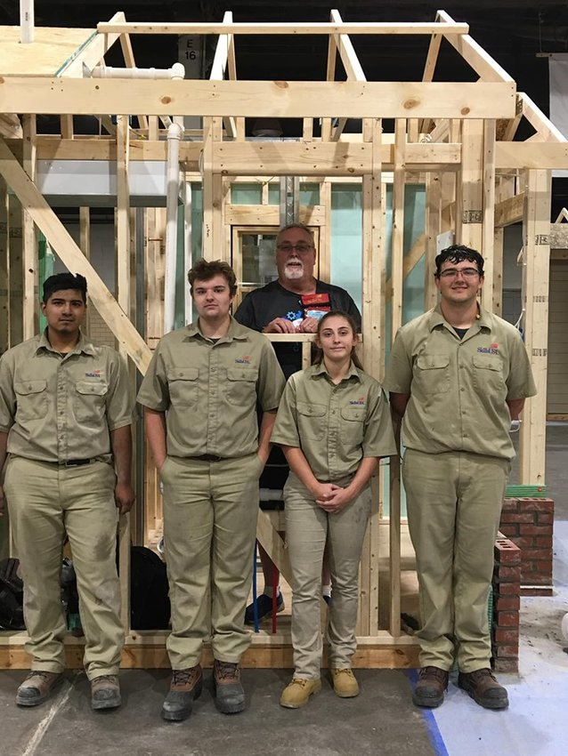 Coming in fourth in the country at the 2019 National Leadership and Skills Conference were Adairsville High TeamWorks members, from left, rising senior Vidal Diaz-Sandavol, recent graduate Hamilton Noggle, instructor and coach Barry Arrington Sr., recent graduate Shyann Bailey and rising senior Andrew Bearden.