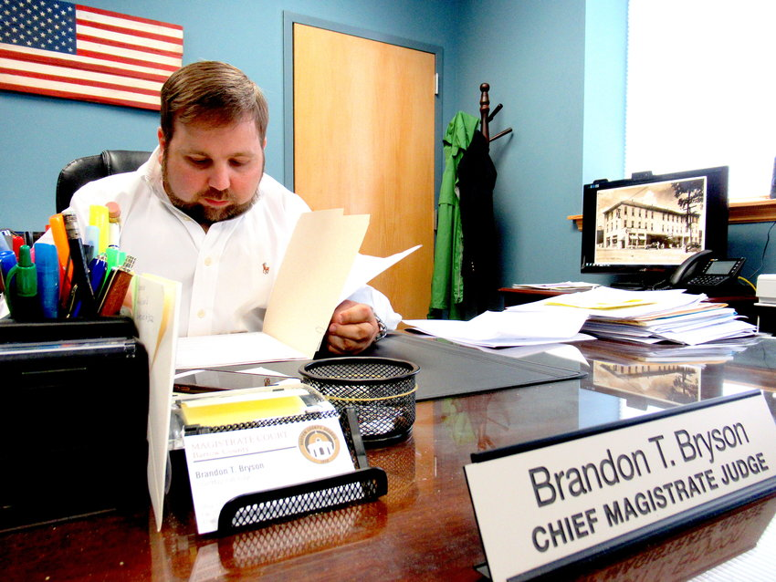 Bartow County Chief Magistrate Judge Brandon Bryson said the local magistrate court backed up its data just weeks before a ransomware attack led to a statewide case management system shutdown.