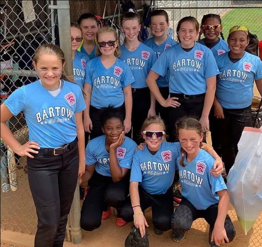 Bartow County went 1-2 in the 10U Georgia Little League state softball tournament in Augusta.