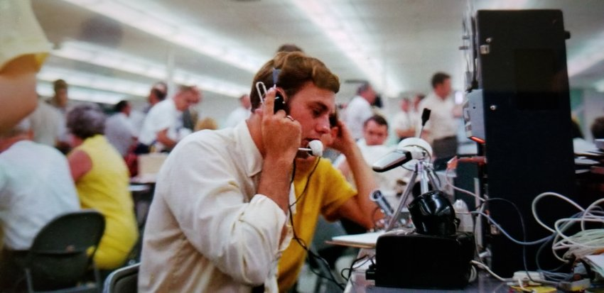 Cartersville resident David Denault covered the Apollo 11 mission during which astronaut Neil Armstrong became the first man to walk on the moon on July 20, 1969.