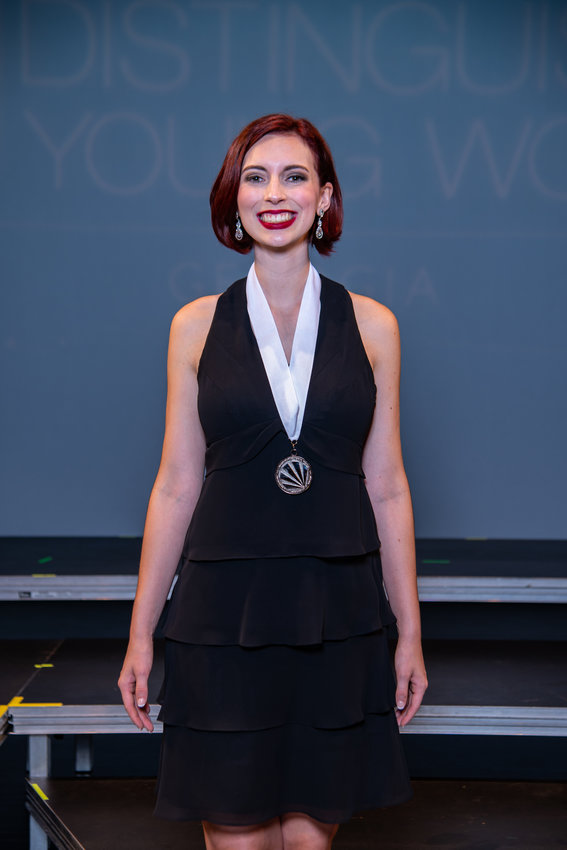 Abigail Matthews is the Distinguished Young Woman of Georgia for the class of 2020.