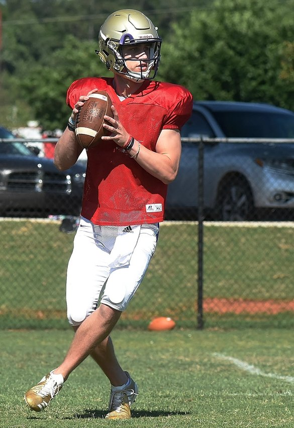 Cartersville senior quarterback Tee Webb was one of three Canes named to the AJC preseason Class 4A all-state team.