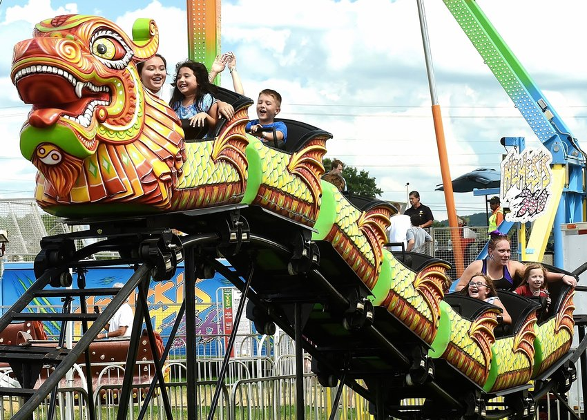The weather was perfect for Pioneer Days at Sam Smith Park in Cartersville, which featured rides, games, food and fireworks Saturday night. The annual festival drew thousands of all ages over the Labor Day weekend.