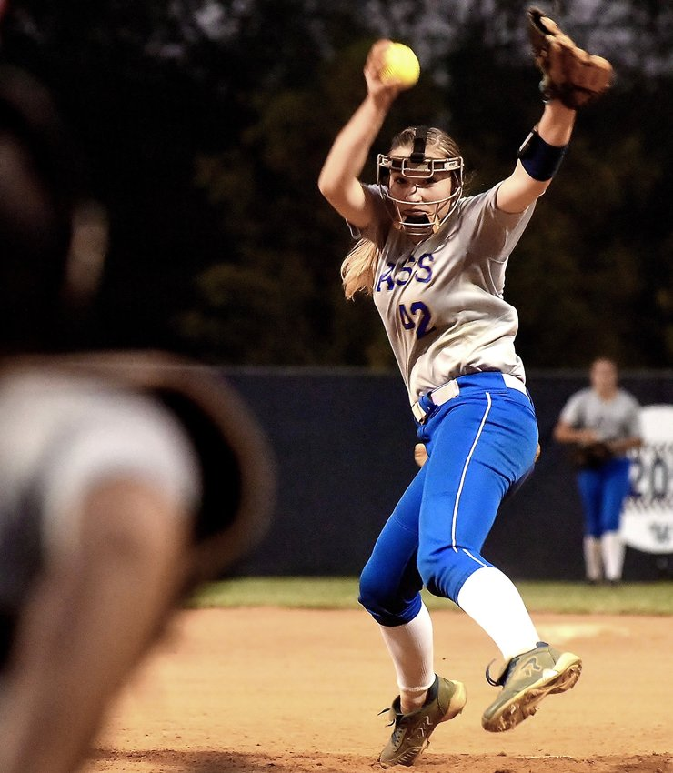 Cass pitcher Rachael Lee threw a complete game, five-inning shutout in Cass' 8-0 win over Rome Wednesday at Woodland High in the Region 7-AAAAA tournament.