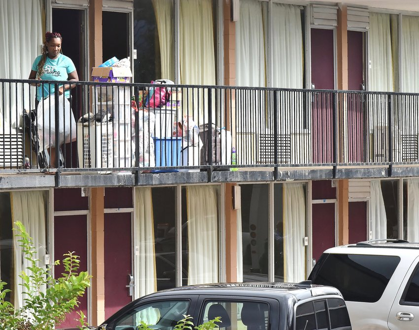 Hundreds of residents were displaced when the Georgia Department of Public Health closed down the Budgetel Inn off Carson Loop last week.