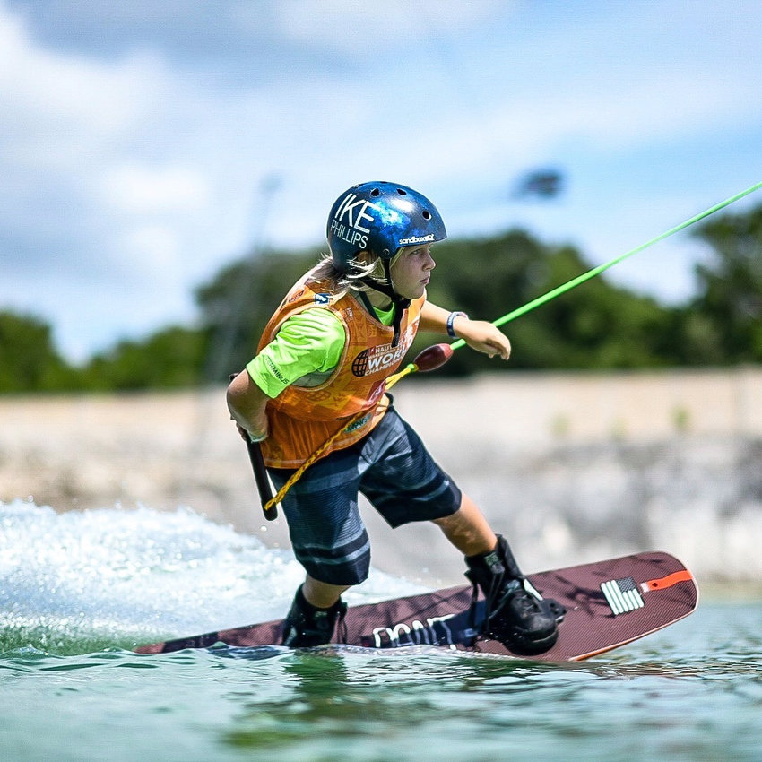 Cartersville resident Ike Phillips, 9, finished runner-up in the cable division and fourth in the boat division in the Junior Boys competition (9-and-under division) at the WWA World Championships this past weekend in Playa del Carmen, Mexico.