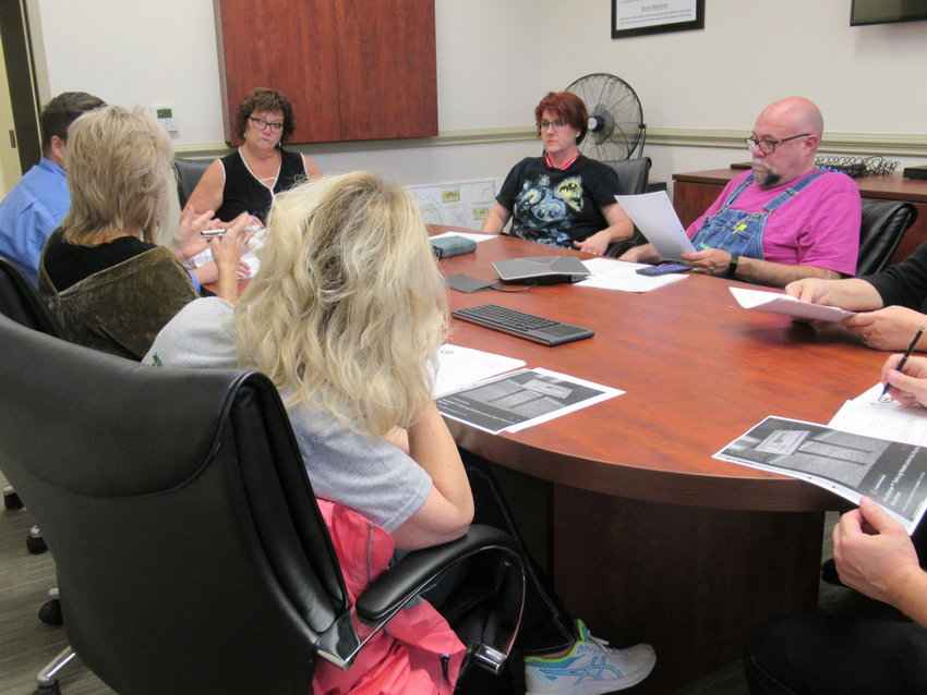 Members of the Adairsville Downtown Development Authority approved a contract to bring five sculptures to the City square at Wednesday's public meeting.