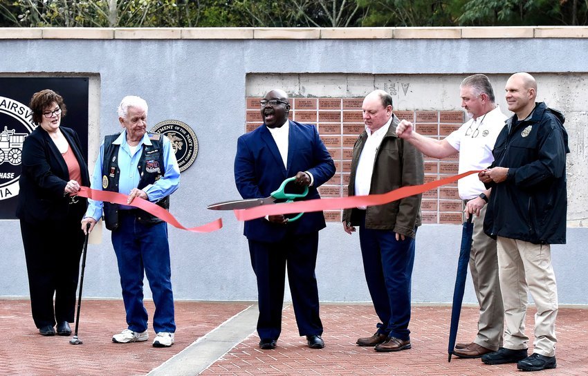 The City of Adairsville celebrated the grand opening of Veterans Memorial Park Thursday afternoon.