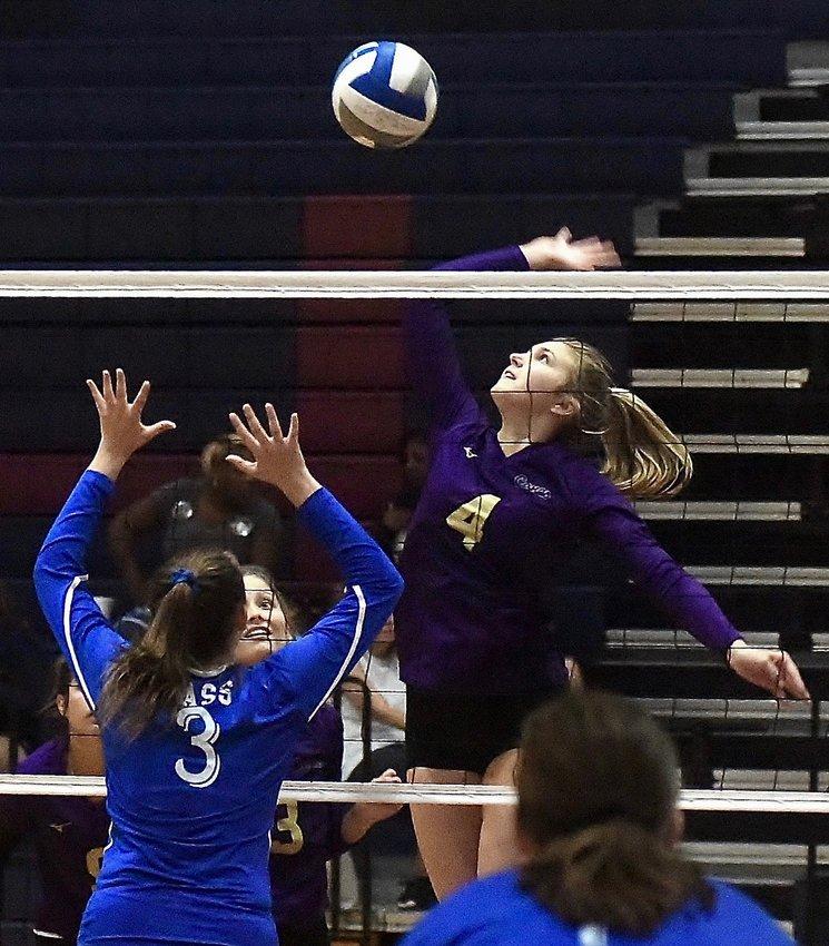 Cartersville senior Halle Matthews (4) made the Daily Tribune News All-County Volleyball Team.