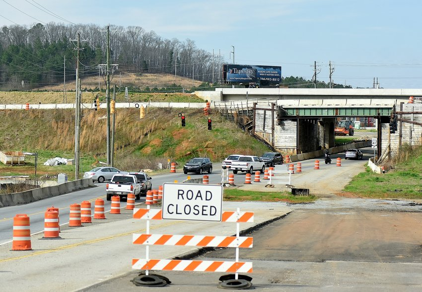 Cartersville-Bartow Metropolitan Planning Organization Transportation Planner Tom Sills said he anticipates the Highway 41/Highway 411 interchange reconstruction project wrapping up by fall 2020.