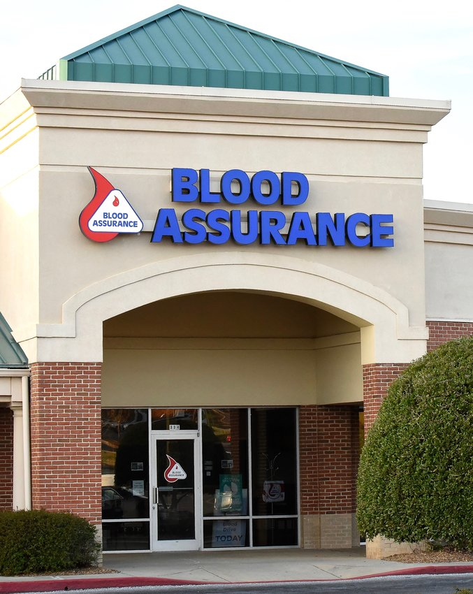 The Cartersville Blood Assurance Donor Center is located in the Main Street shopping center at 334 Cherokee Place.