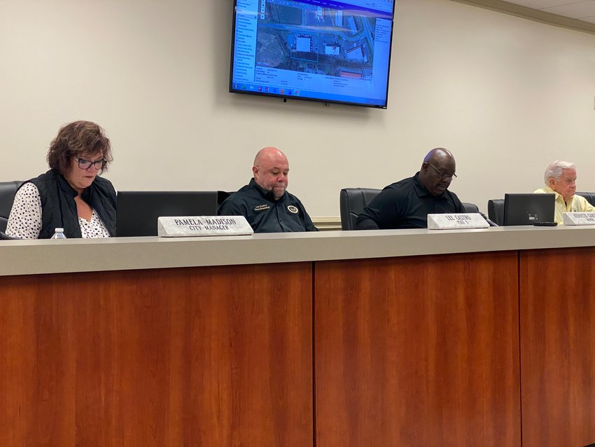 The Adairsville City Council gathered for the first public meeting of the year Thursday evening.