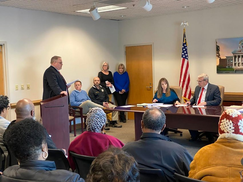 Bartow County Commissioner Steve Taylor approved an ordinance amendment Wednesday establishing new short-term rental regulations in unincorporated portions of the county.