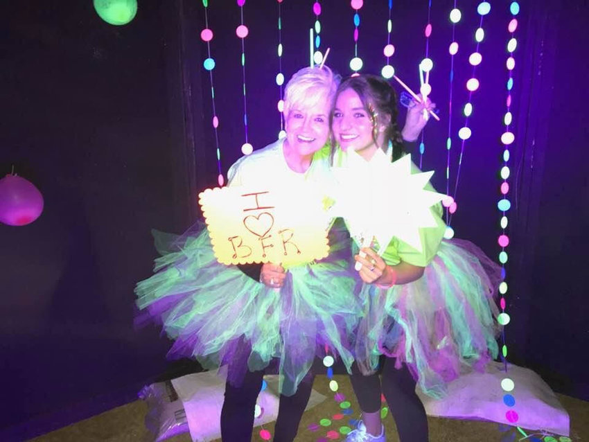 Last year's glow run raised more than $67,000 for Bartow Family Resources.