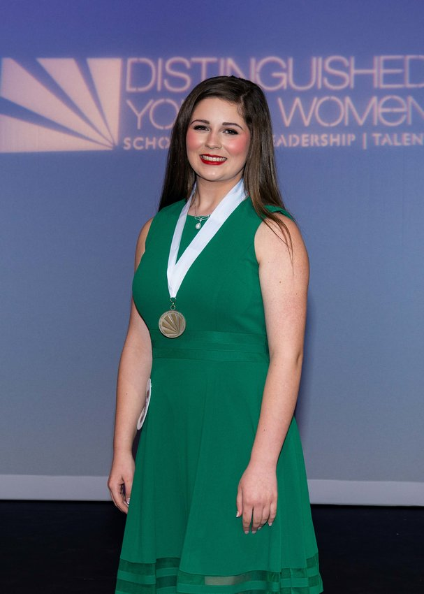 Brentley Durham was awarded the Distinguished Young Woman of Bartow County title Sunday.