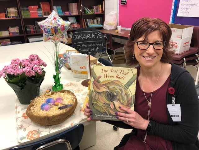 "Randi Sonenshine, an instructional specialist at Cartersville Middle School, will launch her first children's book, ""The Nest That Wren Built,"" next Saturday at the Cartersville Public Library."