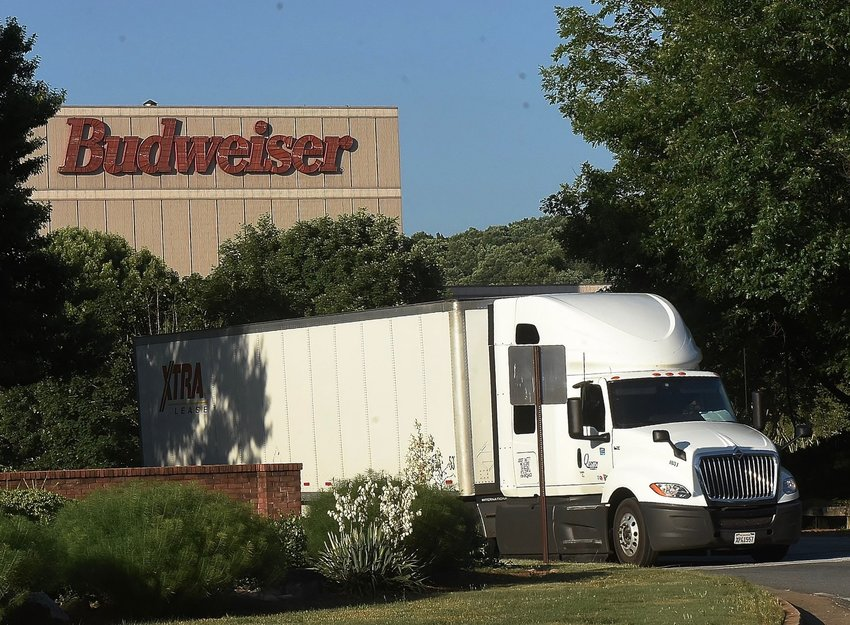 Representatives of Anheuser-Busch announced Tuesday morning that at least one employee at the Cartersville brewery has tested positive for COVID-19.