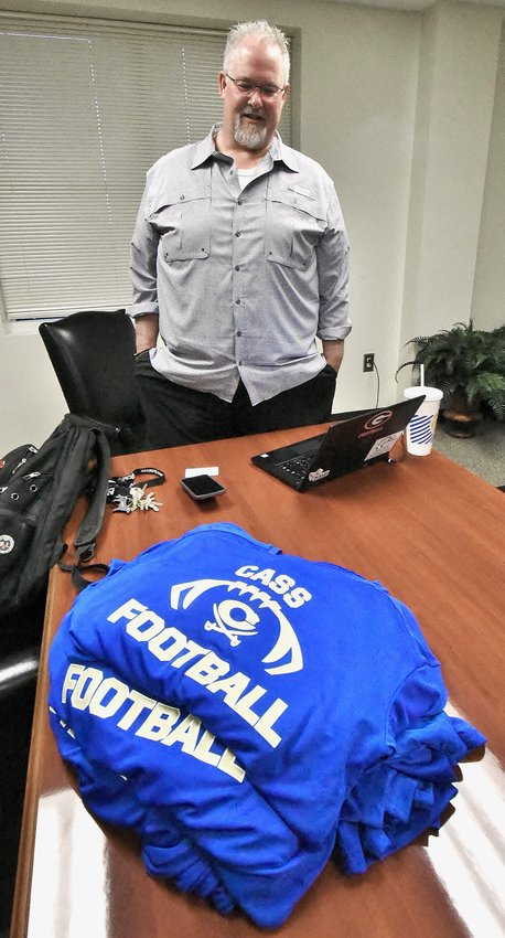 Steve Gates is Cass High School's new head football coach.
