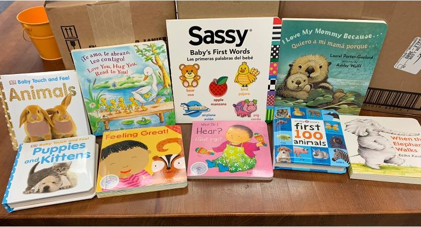 Bartow Literacy Council's New Mother's Book Giveaway program provided 200 new books to Advocates for Children's First Steps this month.