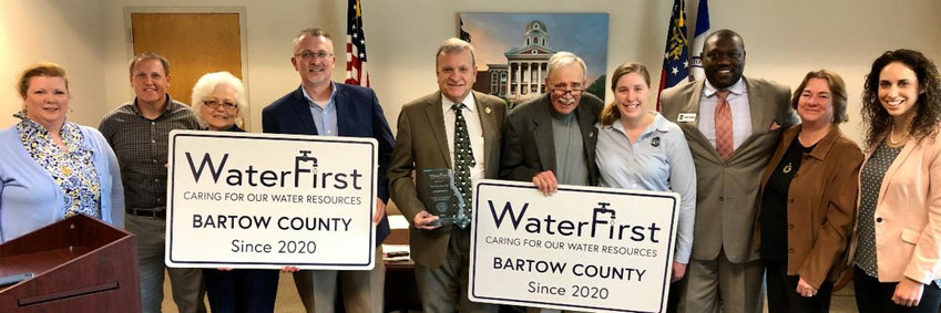 Bartow County government receives WaterFirst designation.