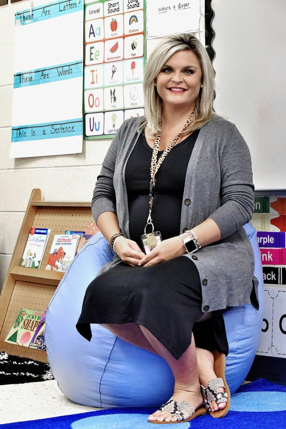 Allatoona Elementary kindergarten teacher Morgan Reynolds won a classroom makeover through a $10,000 grant she received from the Meemic Foundation.