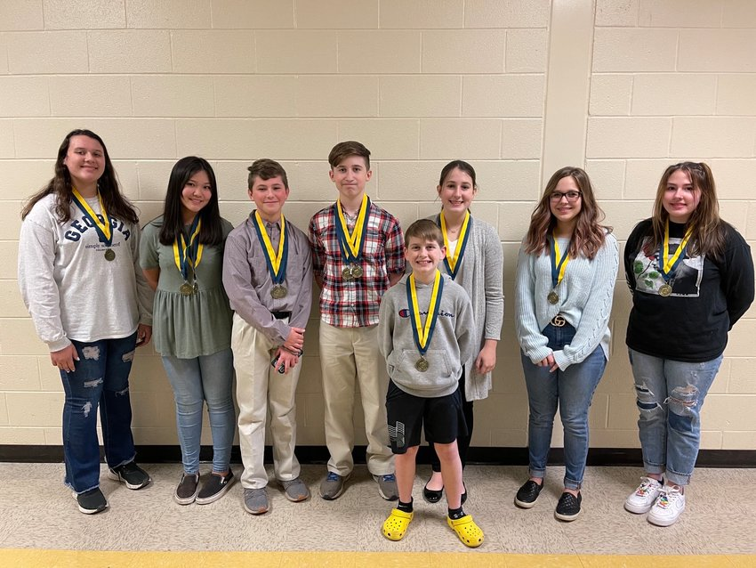 In only its second year of existence, the Adairsville Middle School chapter of Future Business Leaders of America had 29 Top 5 finishes in the recent 2020-21 FBLA Region Leadership Conference, and eight students will represent the chapter at the State Leadership Conference in two weeks.