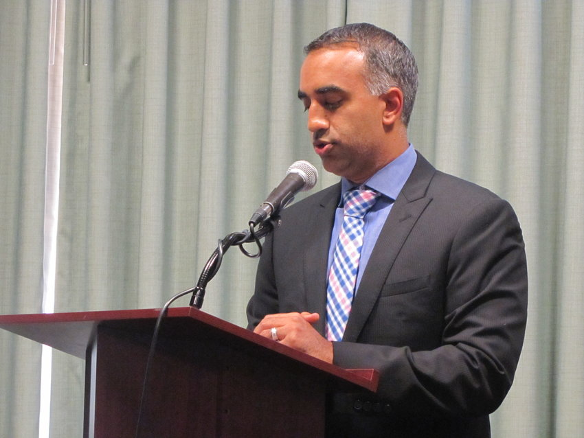 Longtime Cartersville attorney Samir Patel was named the new Cherokee Judicial Circuit District Attorney earlier this month.