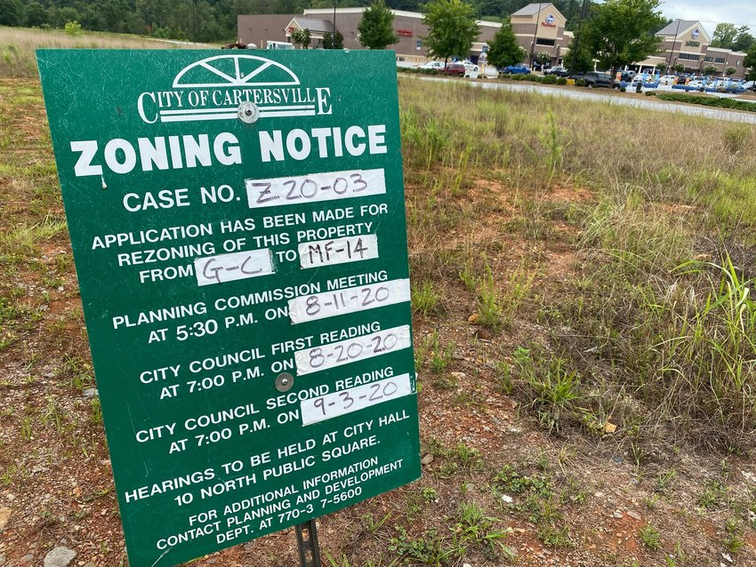 The City of Cartersville is considering amending a tax allocation district redevelopment plan along East Main Street.
