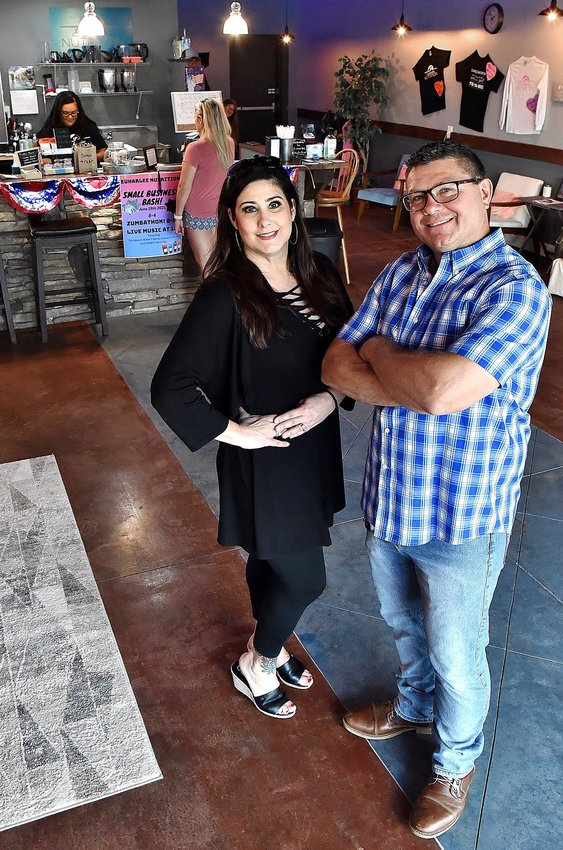Krissy Chance-Bailey — joined by her husband, Billy — opened Euharlee Nutrition at 790 Euharlee Road Suite D in January. The couple is organizing Saturday's Small Business Appreciation Bash.