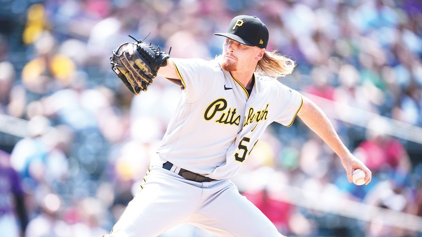 Pittsburgh Pirates relief pitcher Sam Howard throws during a game June 30 in Denver.