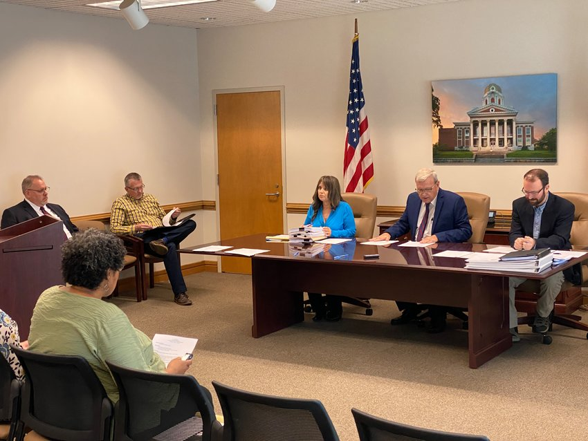 Bartow County Commissioner Steve Taylor approved a series of grant applications at Thursday evening's public meeting.