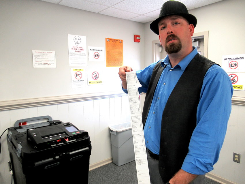 Joseph Kirk has served as Bartow County Elections Supervisor since 2007.