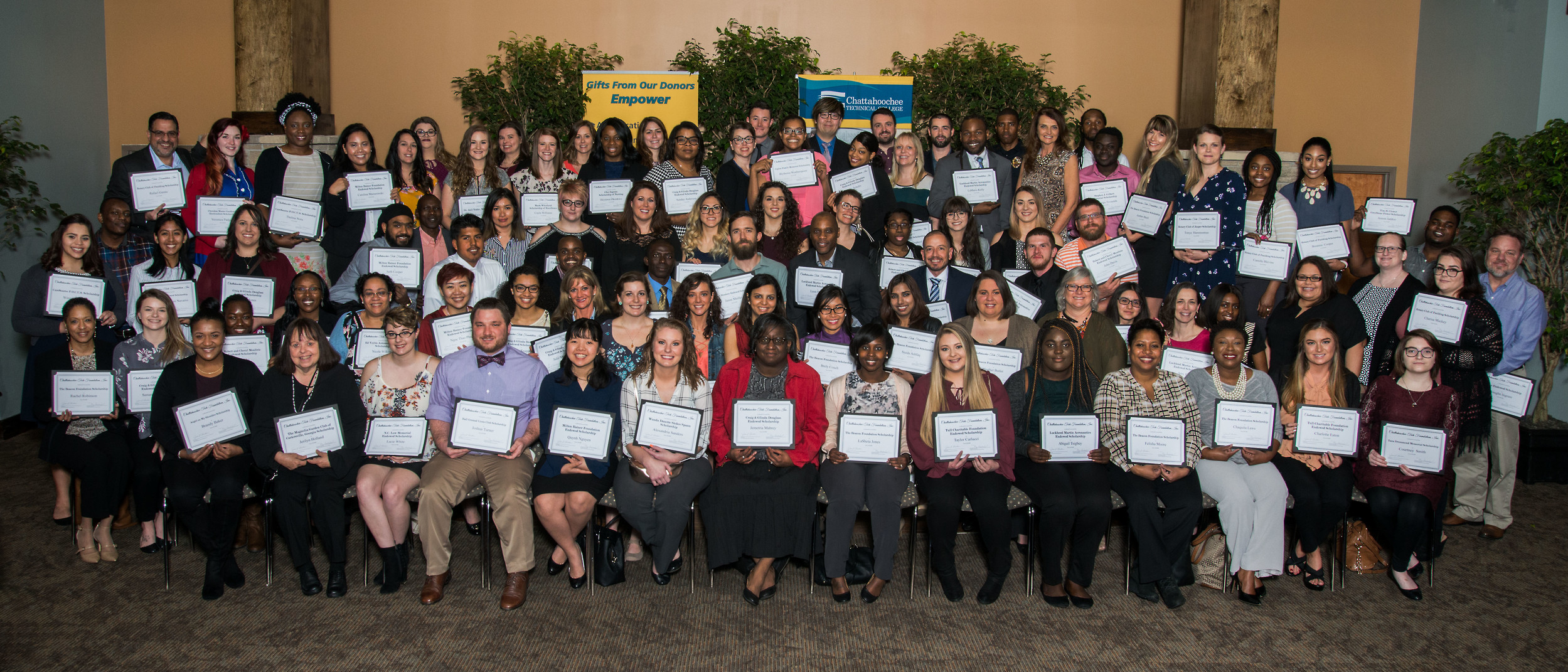 Foundation Awards 98 Scholarships To Deserving Ctc Students The