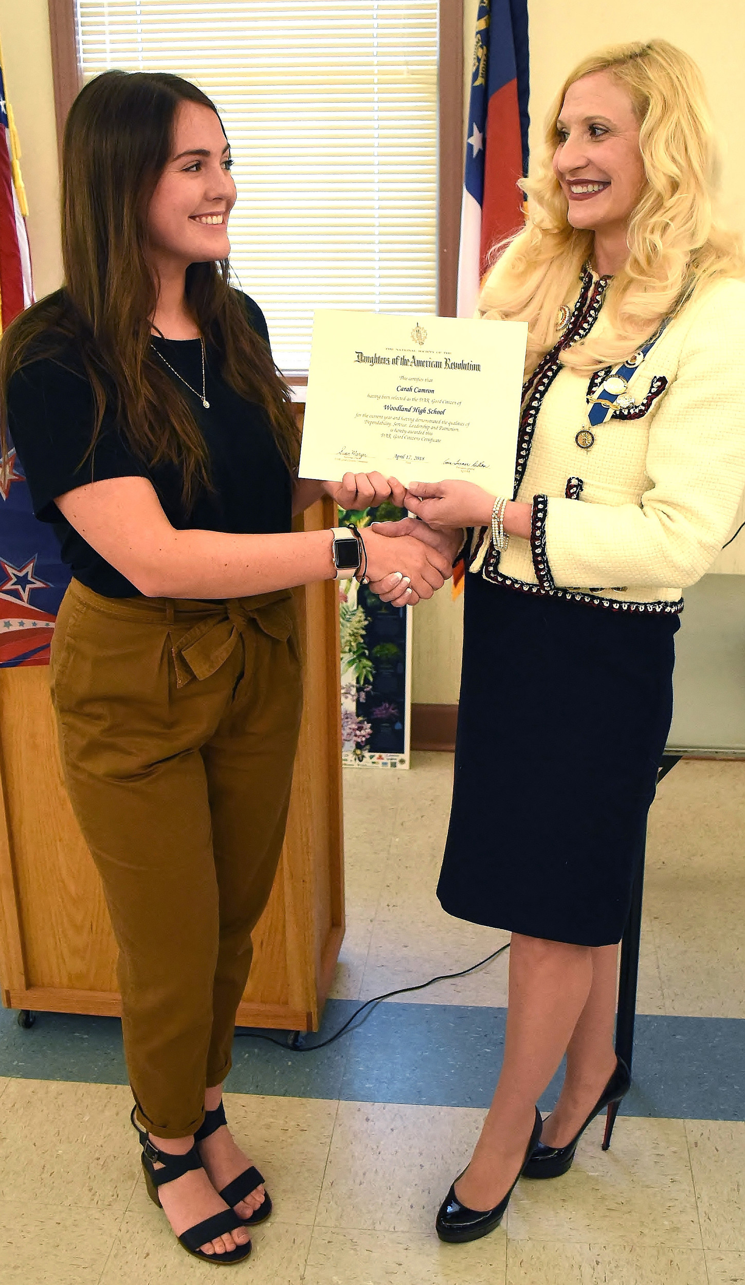 Dar Recognizes Good Citizens Essay Contest Winner  The Daily  Dar Recognizes Good Citizens Essay Contest Winner  The Daily Tribune News Apa Essay Papers also Doing My Assignment Doing My Assignment  Locavores Synthesis Essay