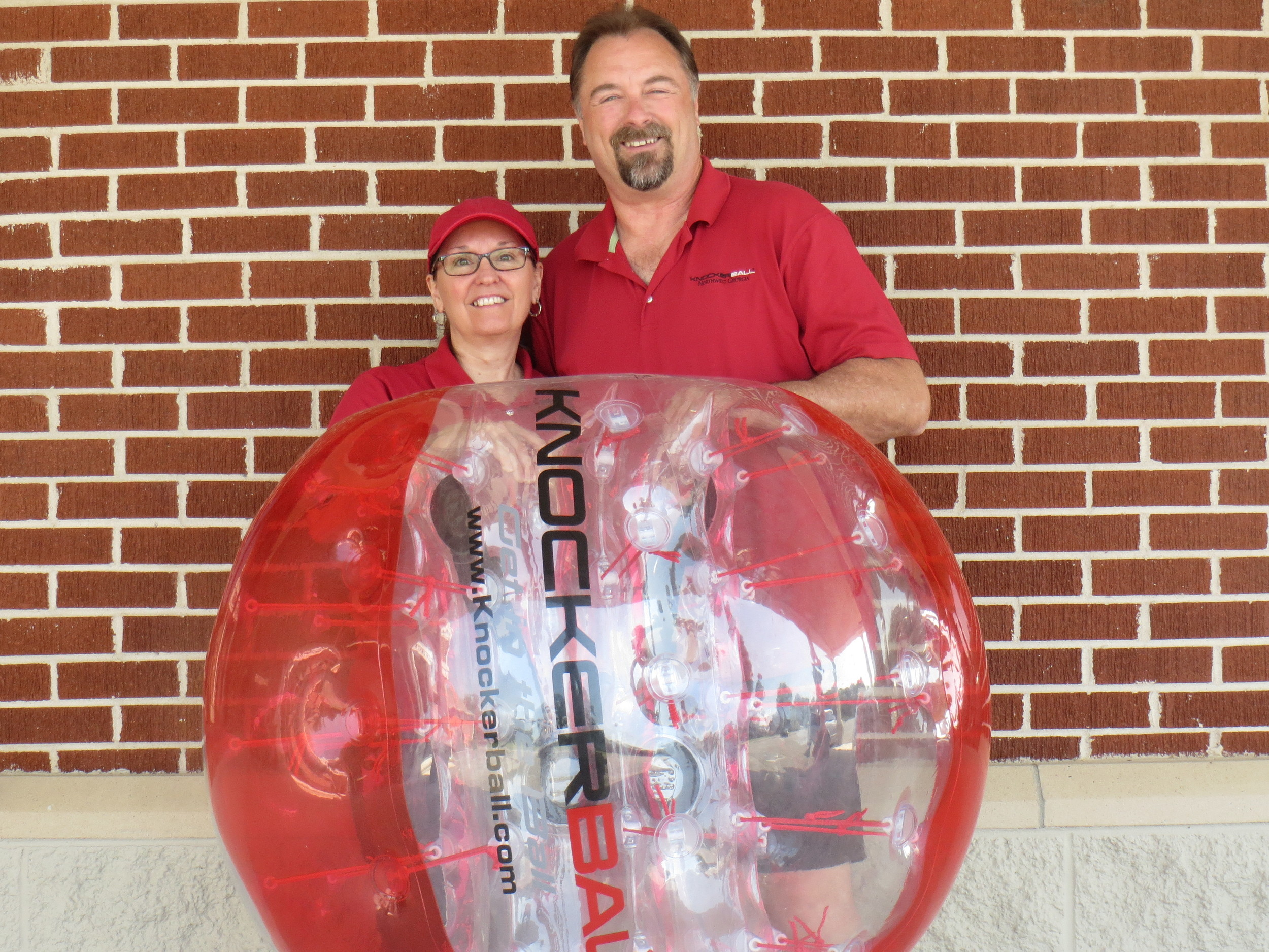 Dianna and Craig Bradley launched KnockerBall Northwest Georgia in Oct. 2016.