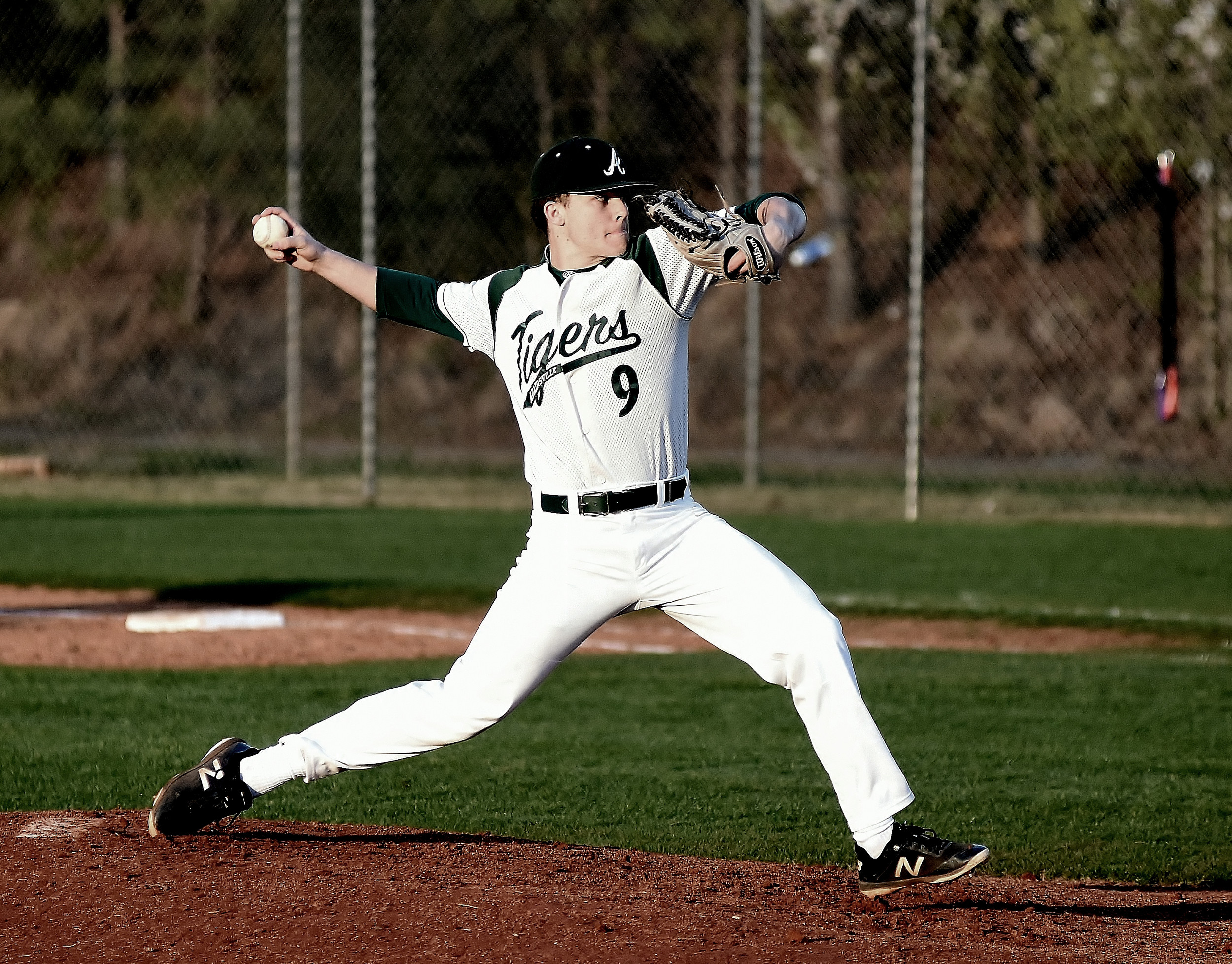 Adairsville senior Kyler Pelfrey earned DTN Pitcher of the Year following his 9-1 campaign. His only loss came in the state playoffs and couldn't dampen a resume bolstered by a 0.89 ERA and 0.71 WHIP.