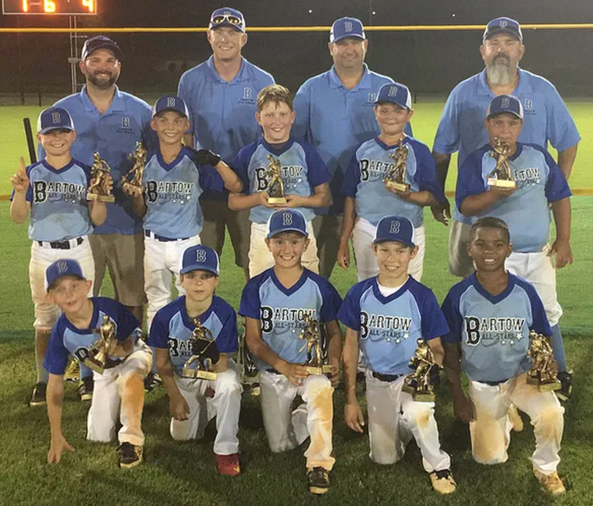 Cartersville 12U, Bartow 10U capture baseball district
