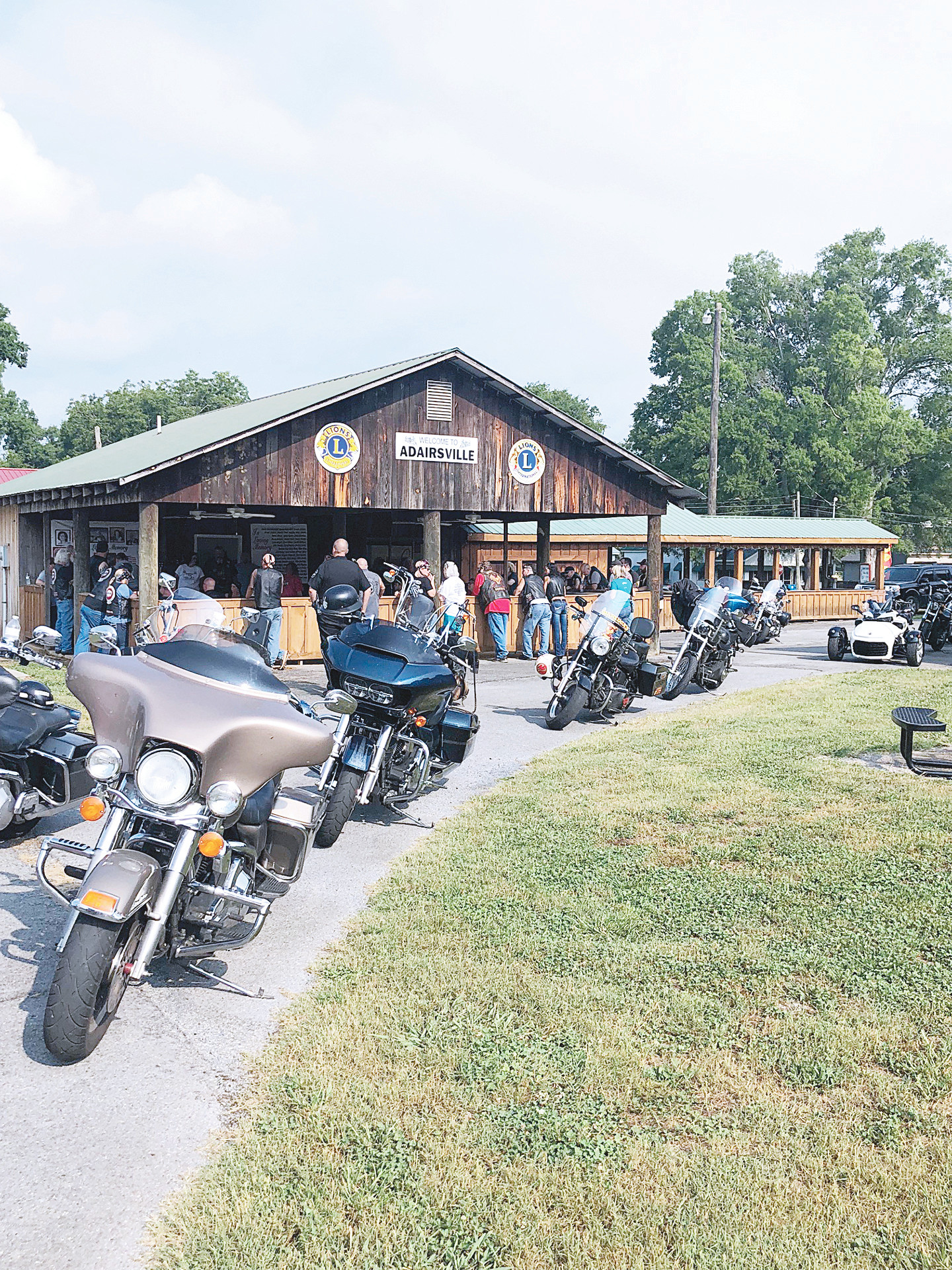 Adairsville Mayor Pro Tem Buddy Bagley's ninth annual motorcycle ride generated $10,200 for Cancer Navigators.