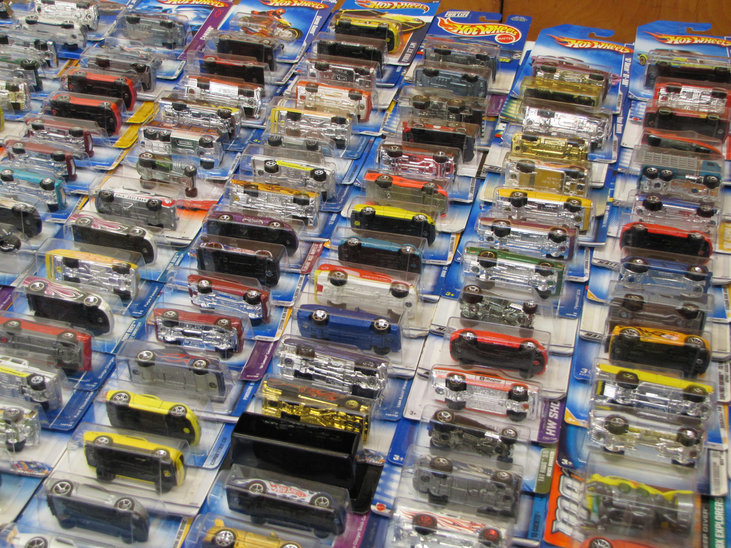 Thousands upon thousands of toy cars flooded the Cartersville Civic Center Saturday as part of the North Georgia Dixie Diecast and Toy Collectibles show.