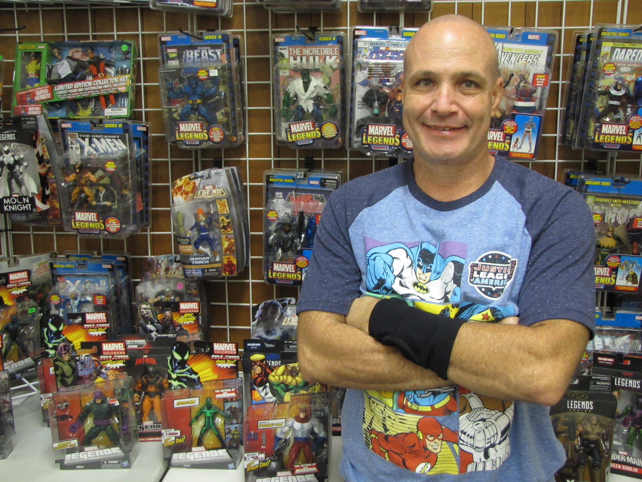 Saturday marked the third time vendor Bill Fury has made an appearance at the North Georgia Dixie Diecast and Toy Collectibles event in Cartersville.