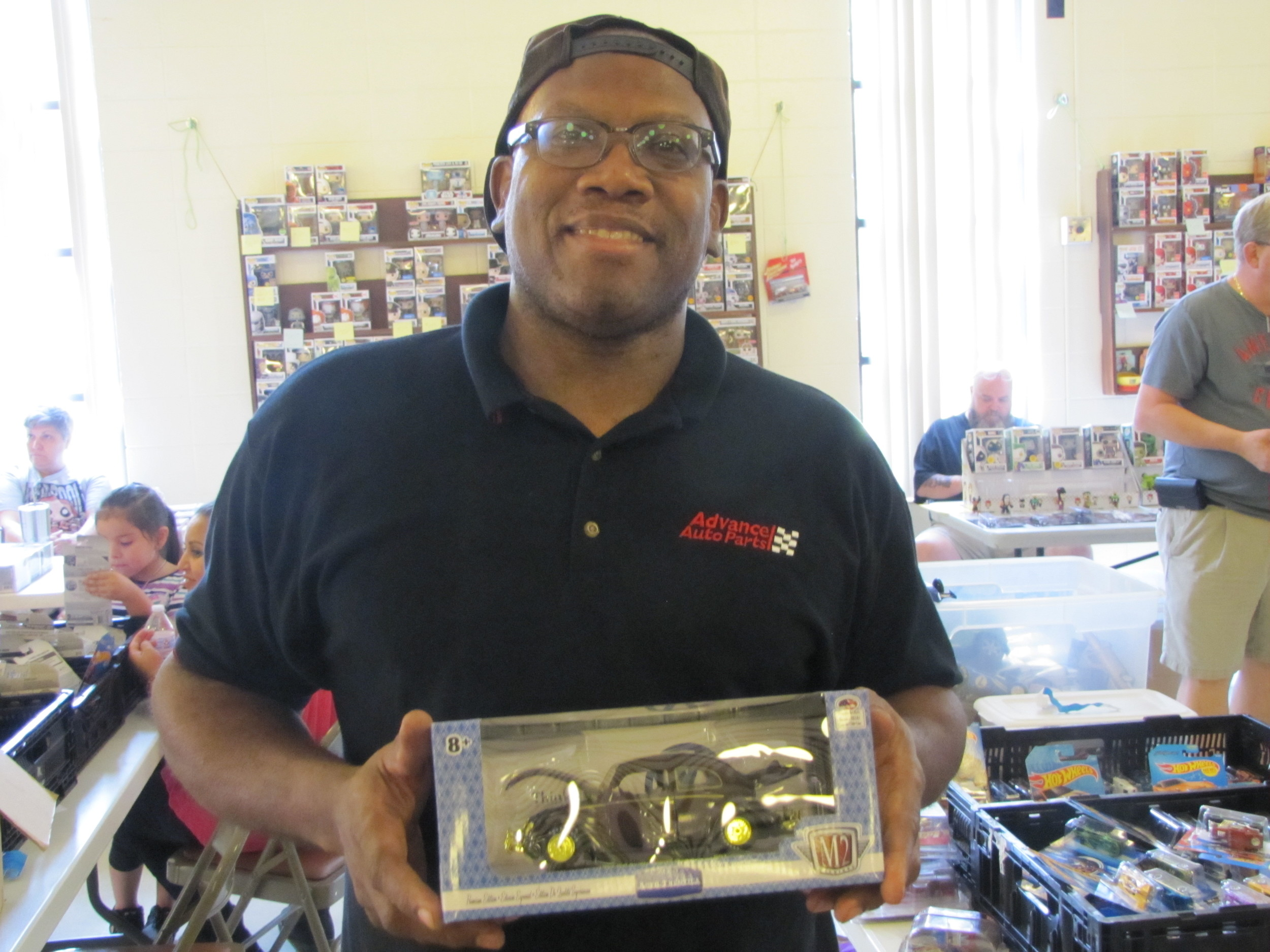 Don Dickenson, 51, of Hapeville, said he's been collecting toy cars for more than 40 years.