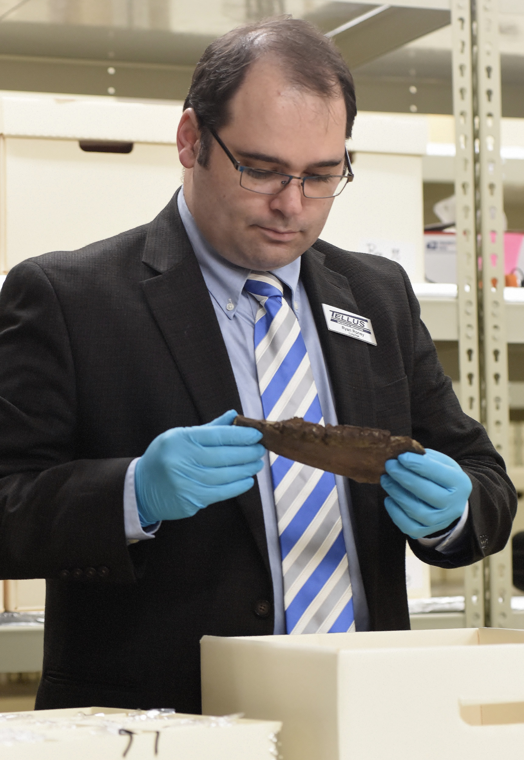 Ryan Roney serves as Tellus Science Museum's curator.