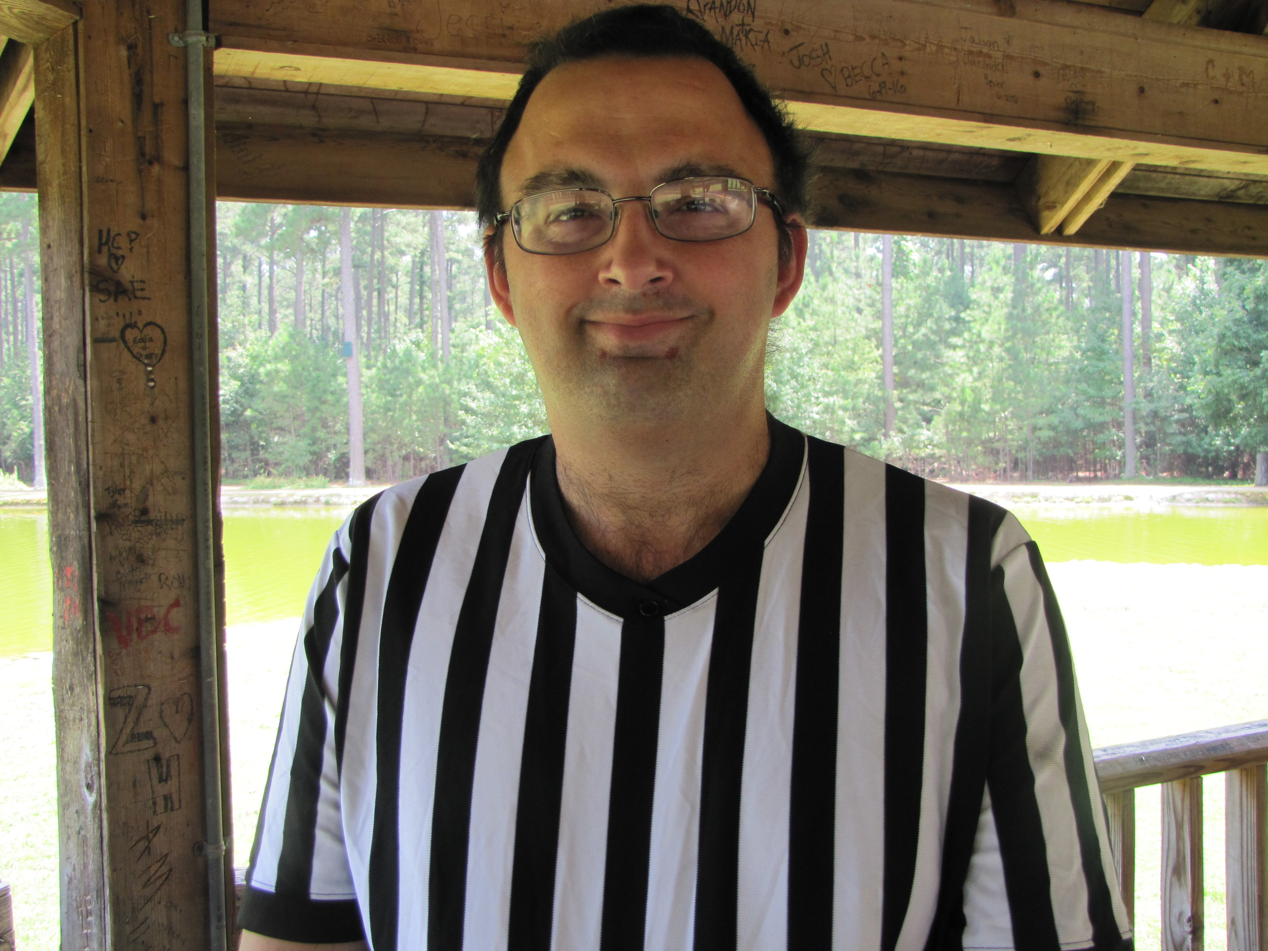 Cartersville native Chris Emerson has been moonlighting as a professional wrestling referee for about two decades.