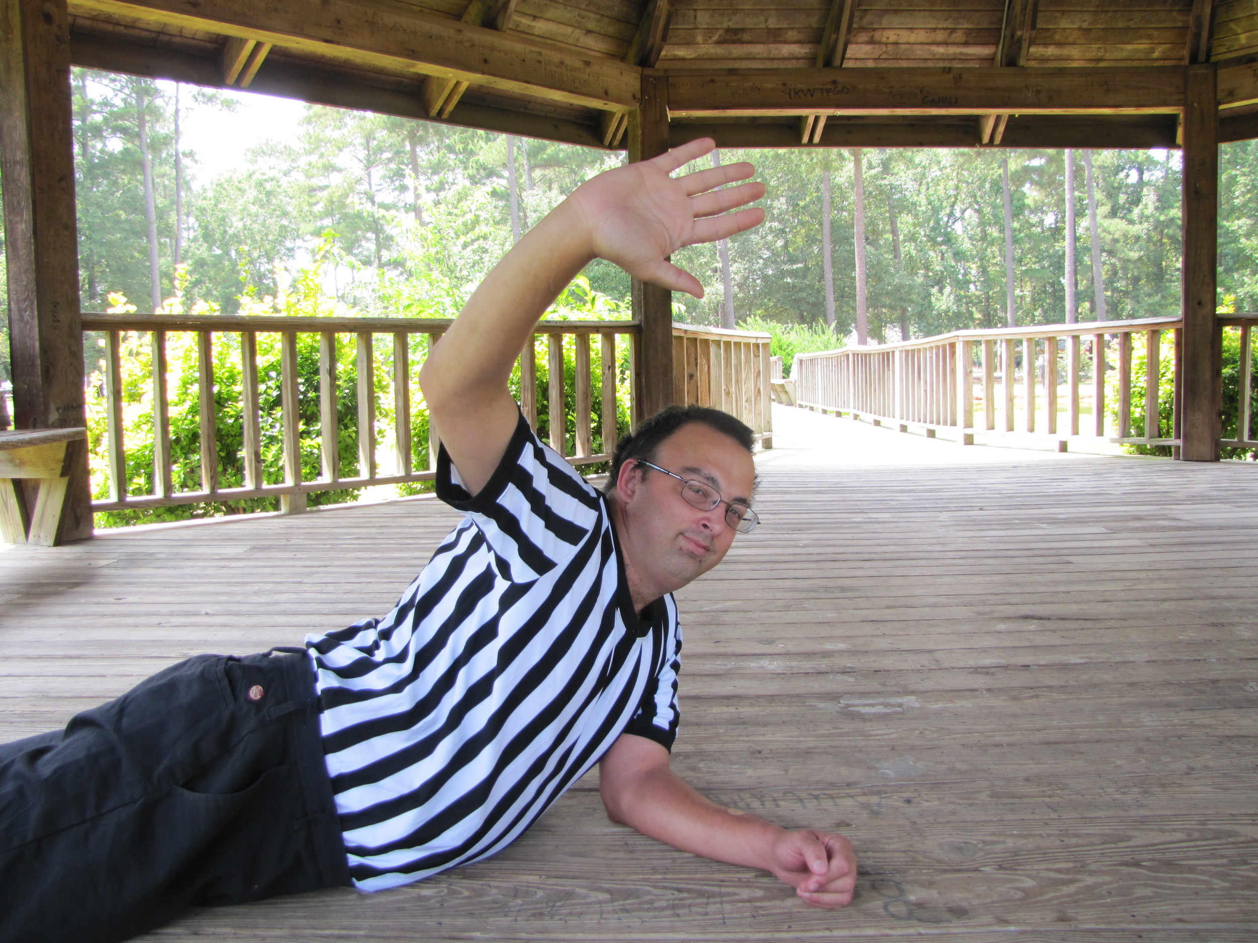 Chris Emerson, 36, said he's refereed more than 5,000 pro wrestling bouts over the last 20 years.
