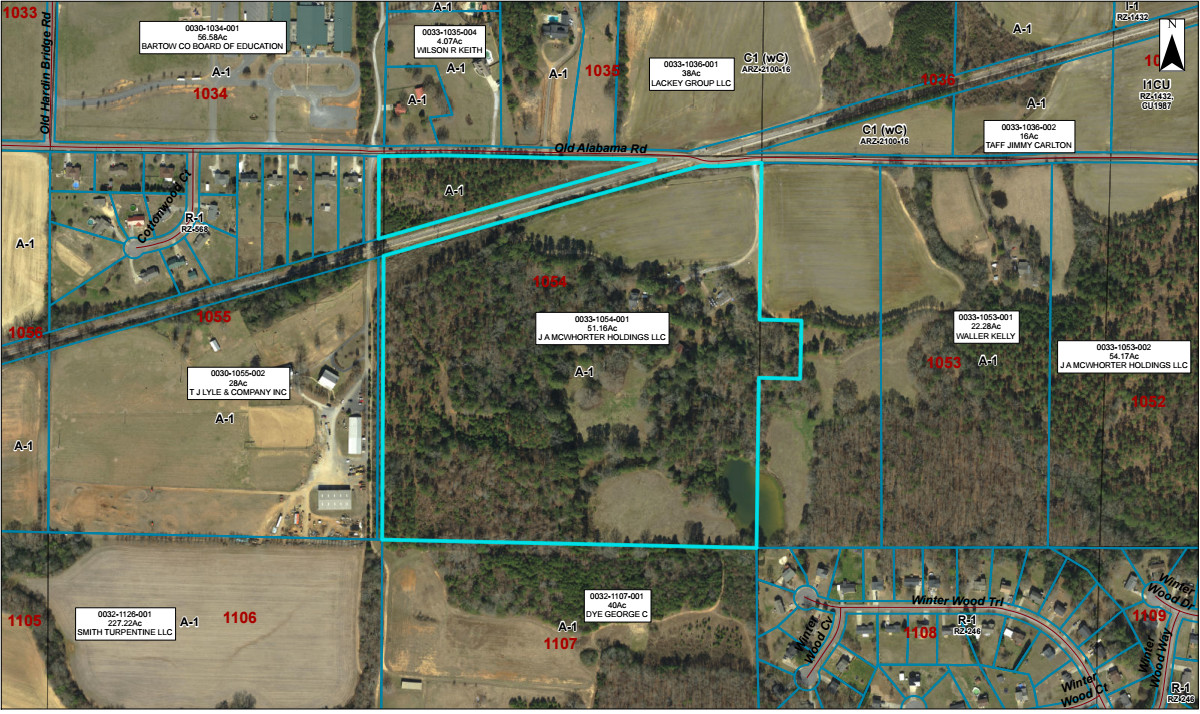 Josh McWhorter, CEO of McWhorter Capital Partners, has plans for a 72-acre residential development along Old Alabama Road in Taylorsville.