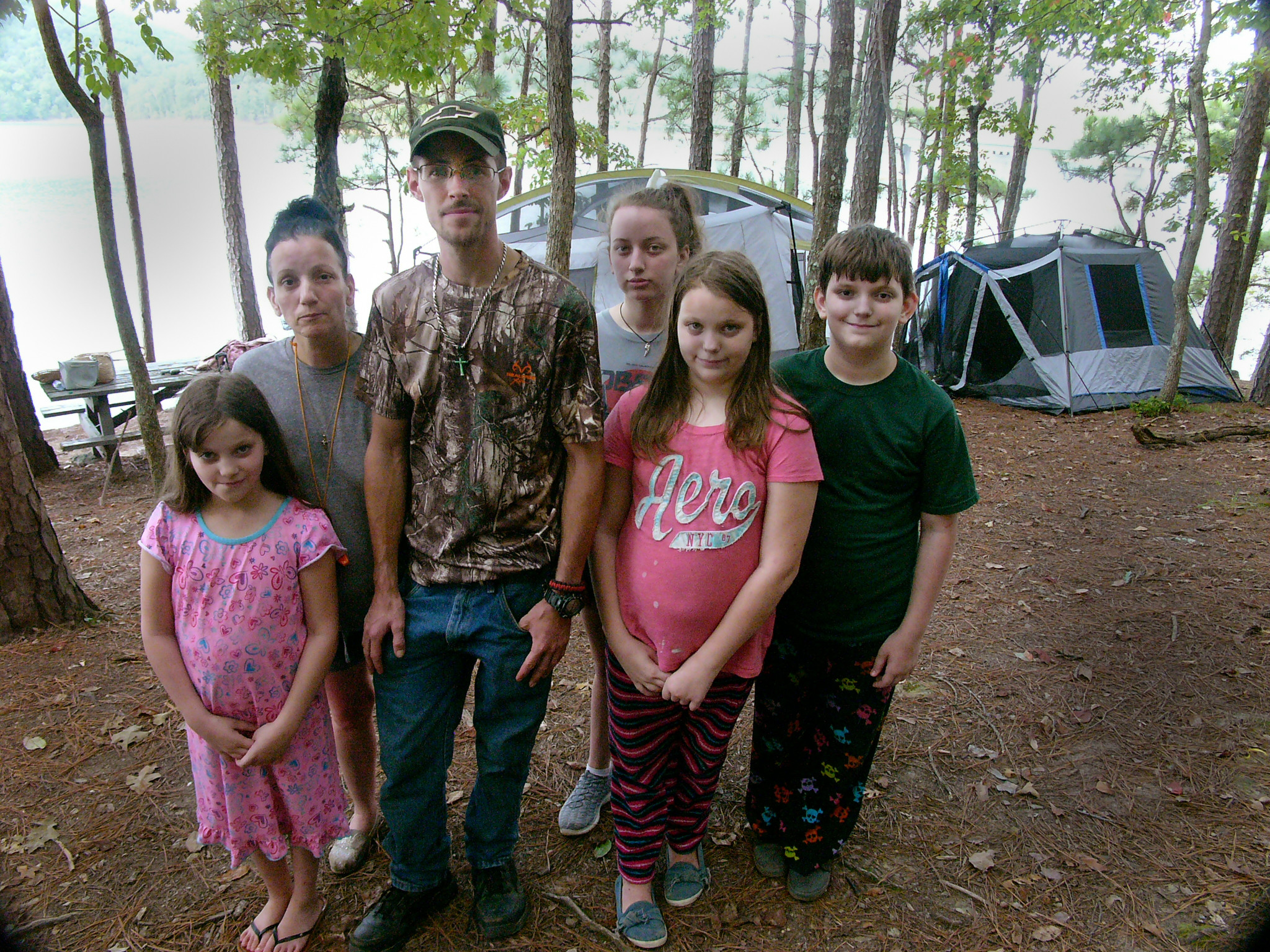 The Wilson family fled their home on Eutawville, South Carolina, as Hurricane Florence bore down on the Carolinas.