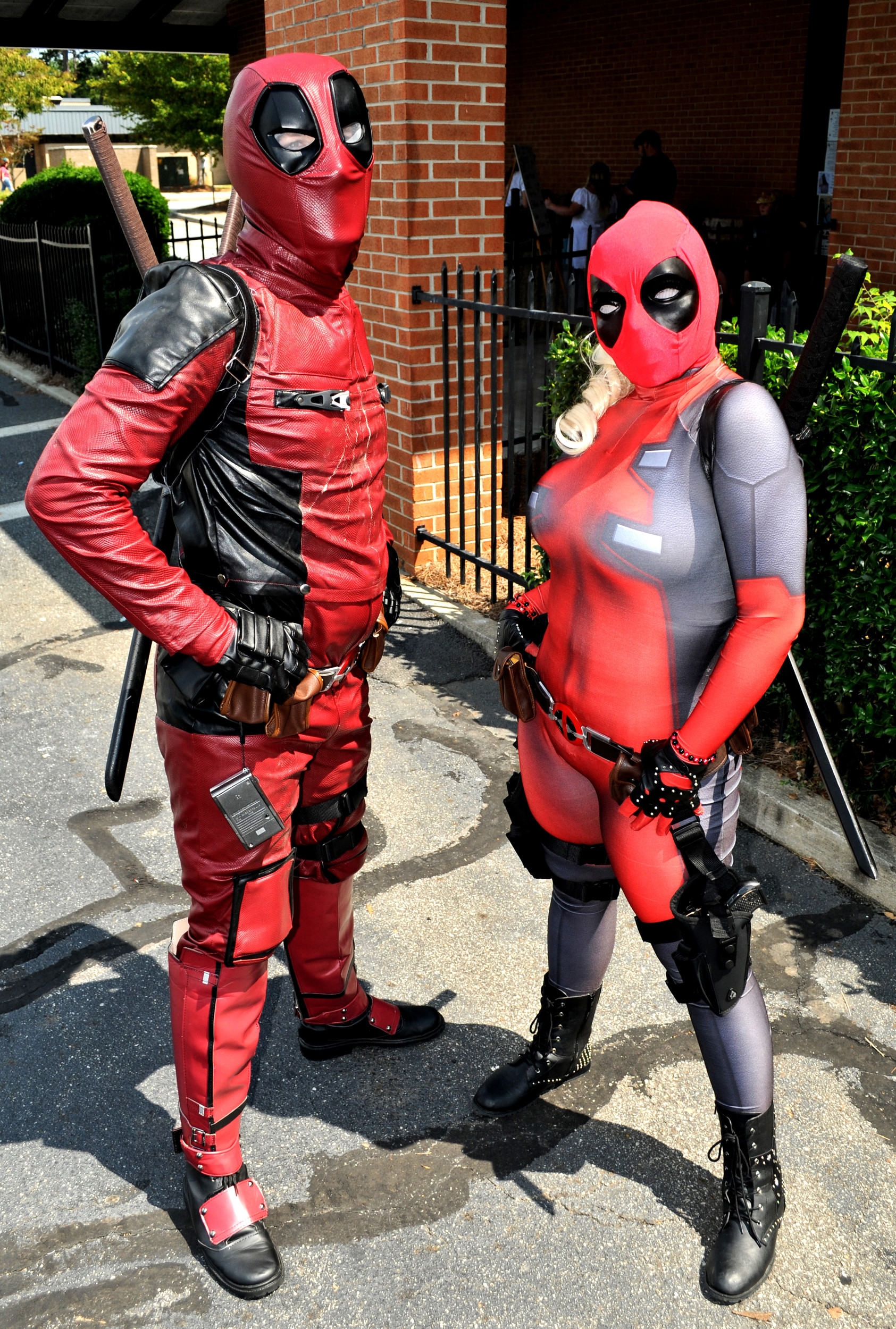 Deadpool and Lady Deadpool were on hand for the 2017 Cartersville Comic, Horror and Toy Expo at the Cartersville Civic Center. Renamed Cartersville Comic Con, the event will be presented Saturday at the Clarence Brown Conference Center.