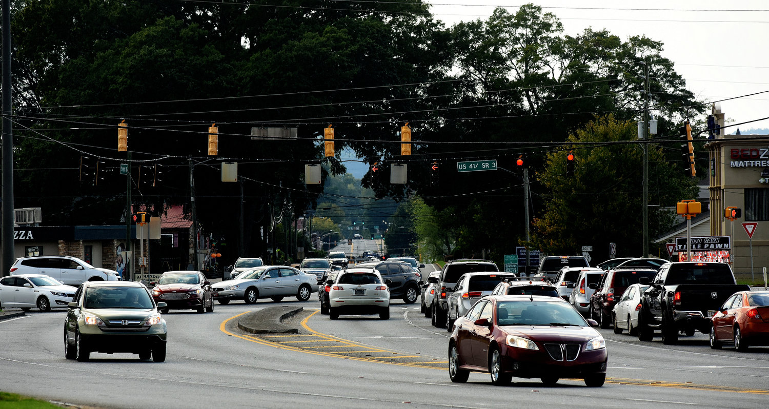 An upcoming GDOT project will repave about 1.8 miles of US 41 from Martin Luther King, Jr. Drive to south of Peachtree Street in Cartersville.